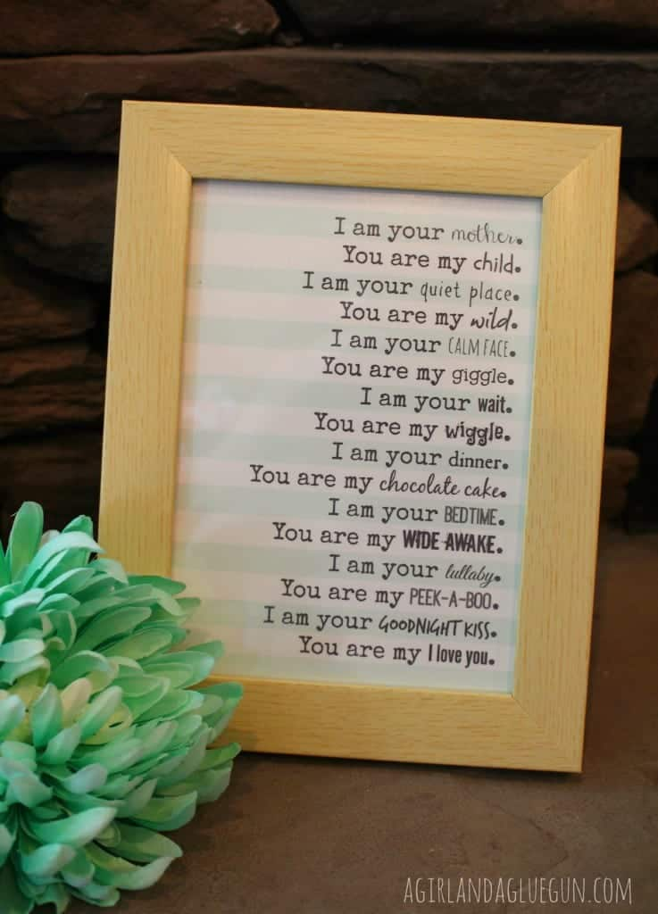 mother's day printable for free