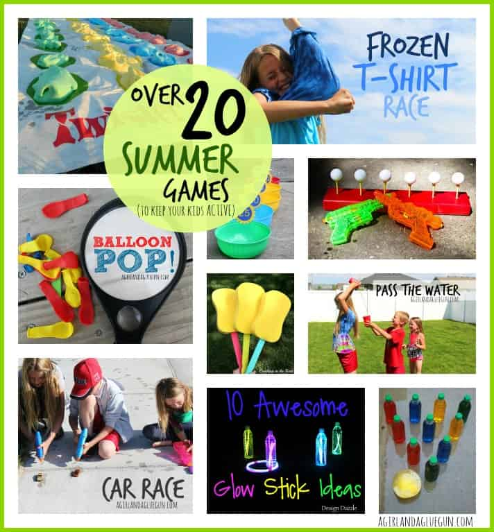 Over 20 Outdoor Summer To Keep Your Kids Active