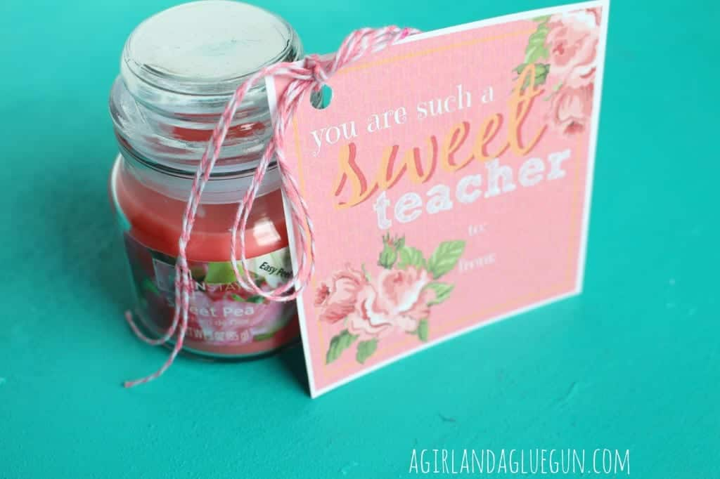 sweet pea teacher appreciation