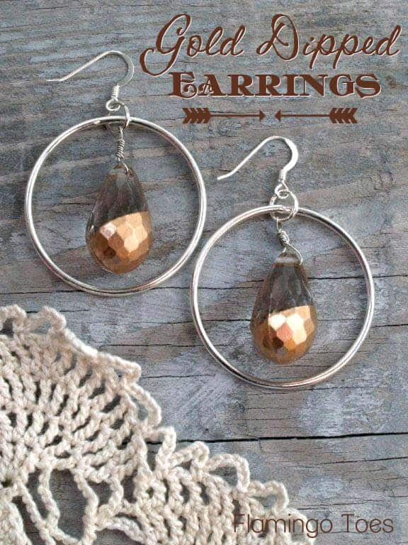 Gold-Dipped-Earrings