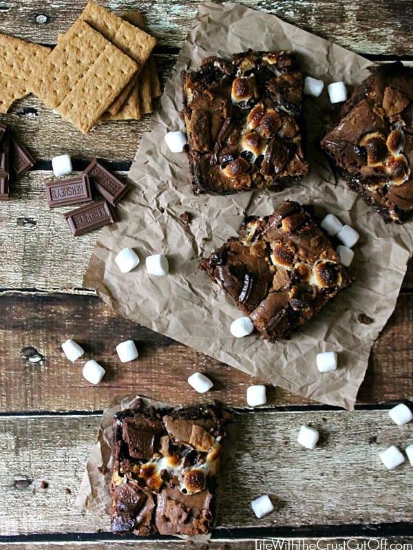 Smoreo-Brownies