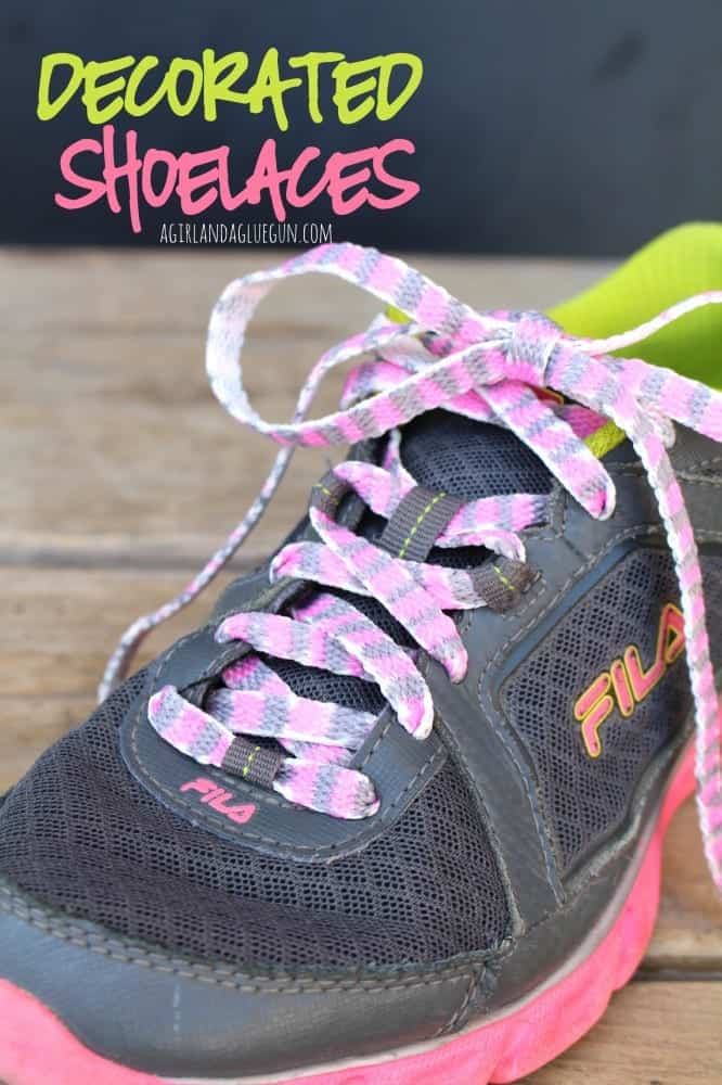personalized shoelaces with sharpies