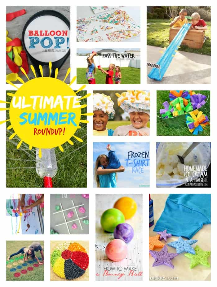 the complete and ultimate summer roundup to keep your kids entertained for the summer!