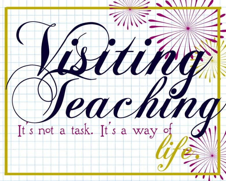 Visiting teaching handouts a girl and a glue gun visiting teaching handouts negle Images