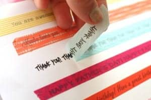 get words on your washi tape!!!