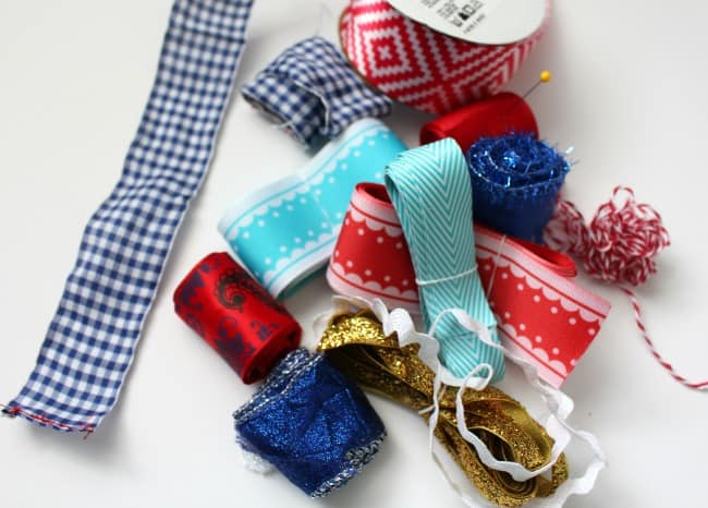 what to do with scrap ribbon