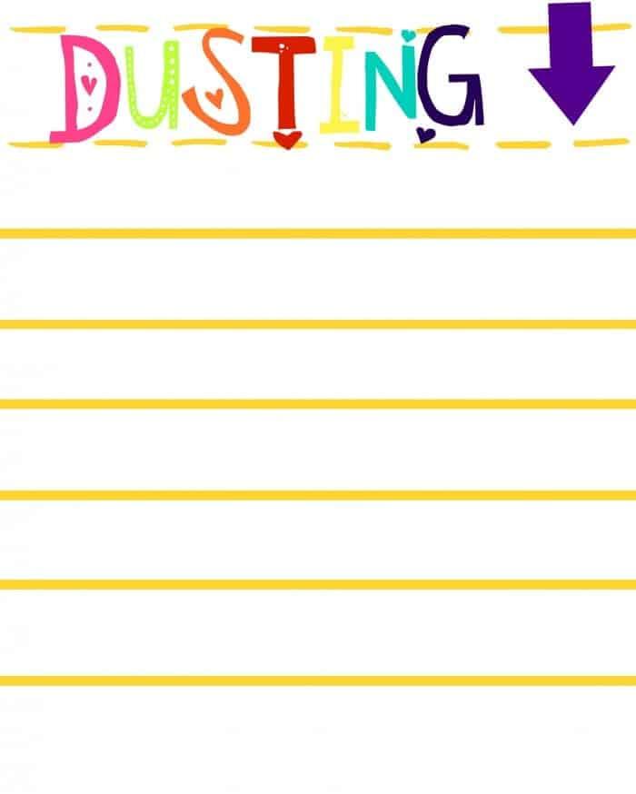 DUSTING