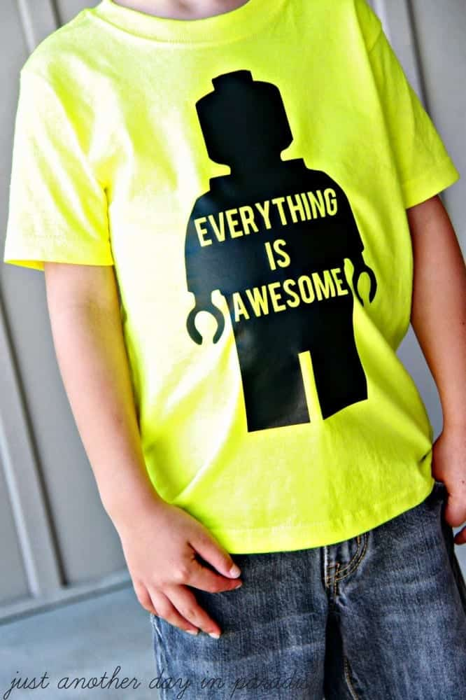 Everything Is Awesome T-shirt 3
