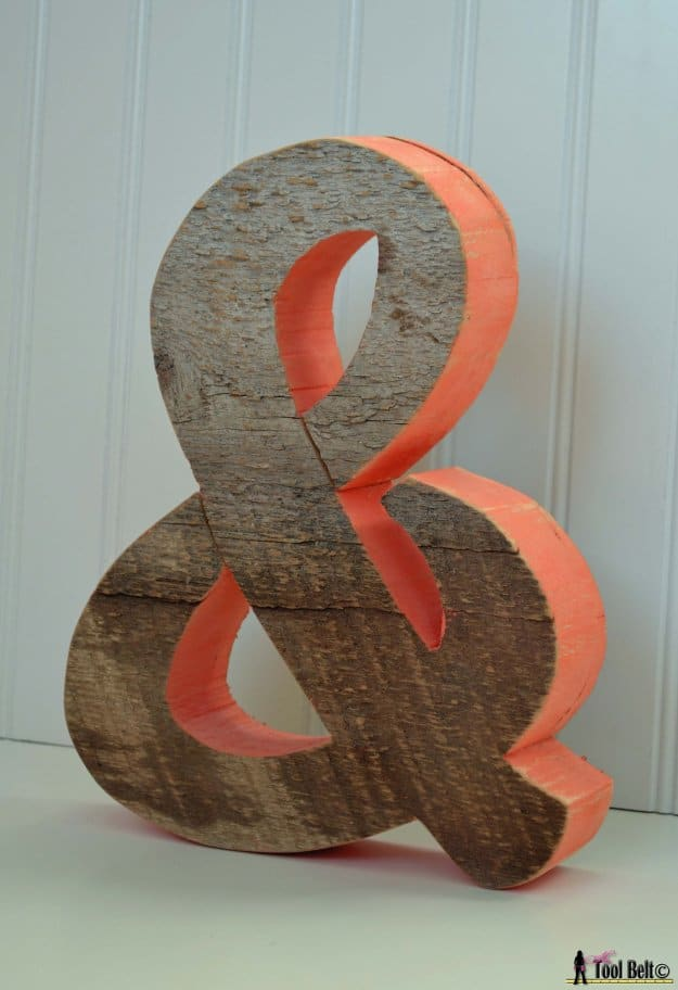 Rustic-ampersand