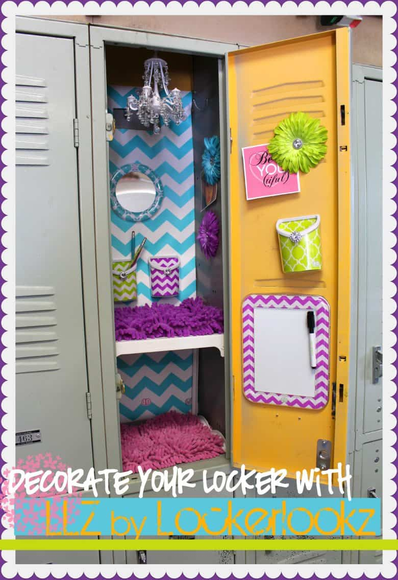 It's all about the magnets when it comes to locker decor, and we love the idea of framing pictures of your friends and family in these cute frames.