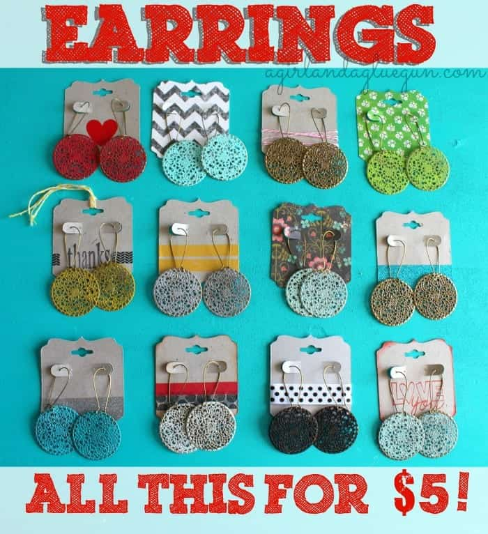earrings 2--best inexpensive present or gift