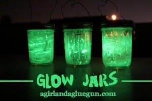 glow jars (kids craft for camping) CRAFT LIGHTING!