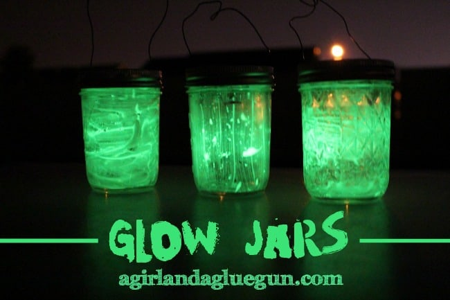 Glow Jars For Kids Camping
