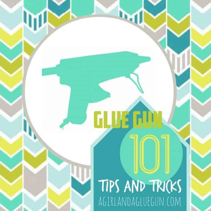glue gun tips and tricks