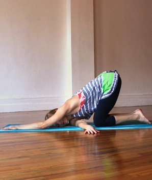31 days of yoga with kids  a girl and a glue gun