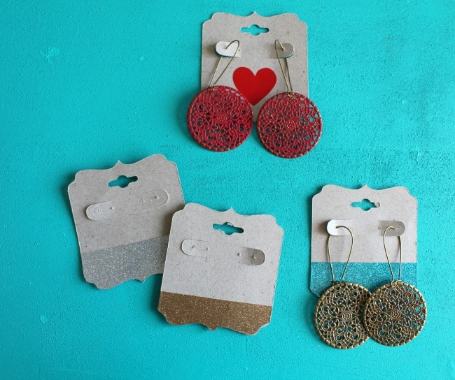 vinyl earring holders
