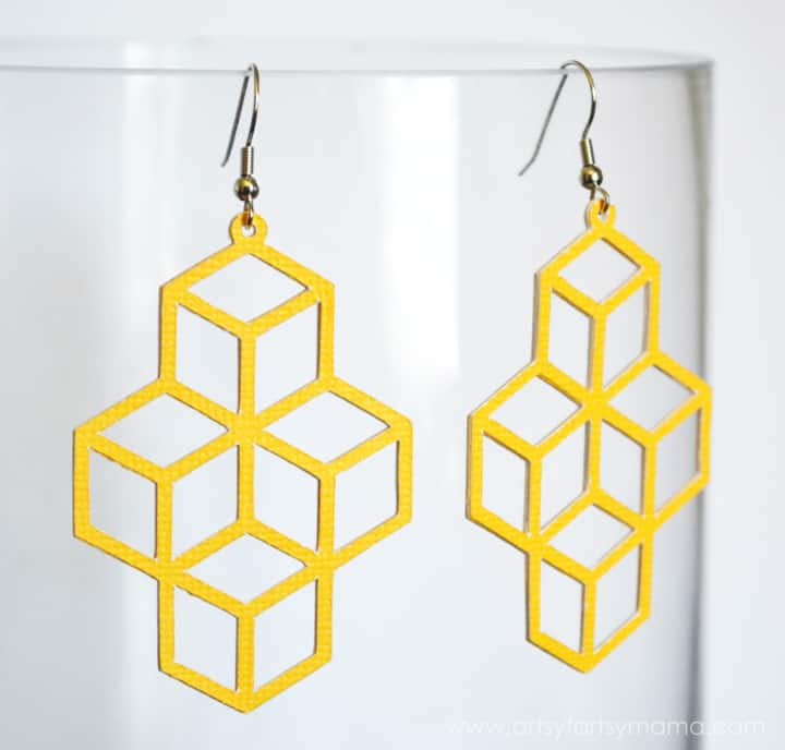 DIY Geometric Earrings