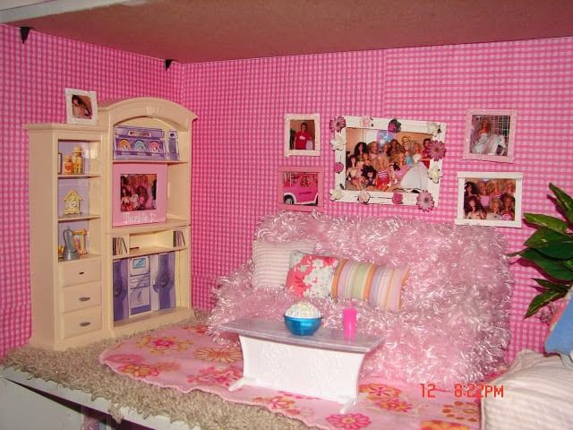 throwback thursday-barbie bed - A girl and a glue gun