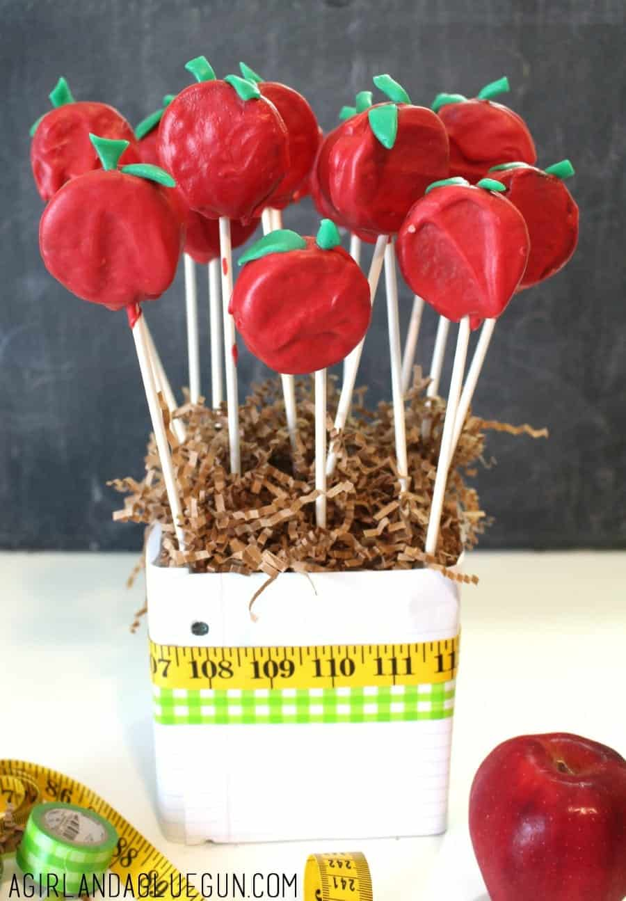 apples for the teacher bouquet