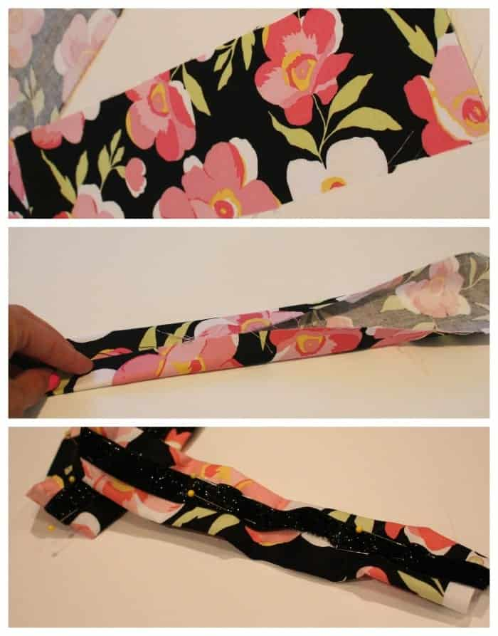 bag strap how to