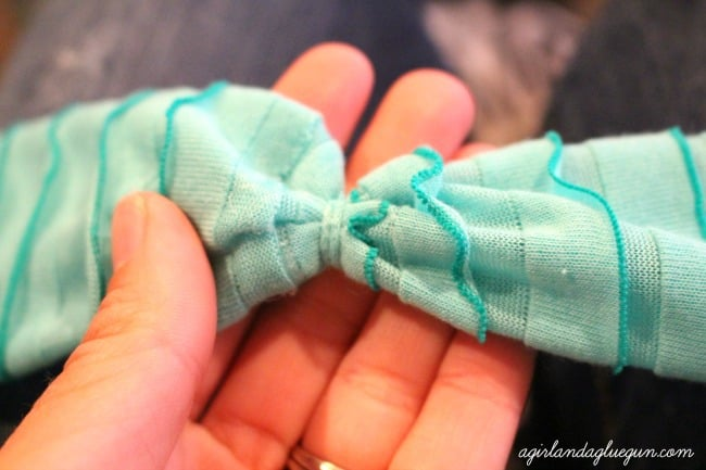 diy hair band how to