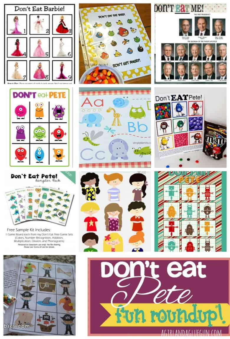 picture about Don't Eat Pete Printable identify Dont try to eat Pete roundup! and printables - A female and a glue gun