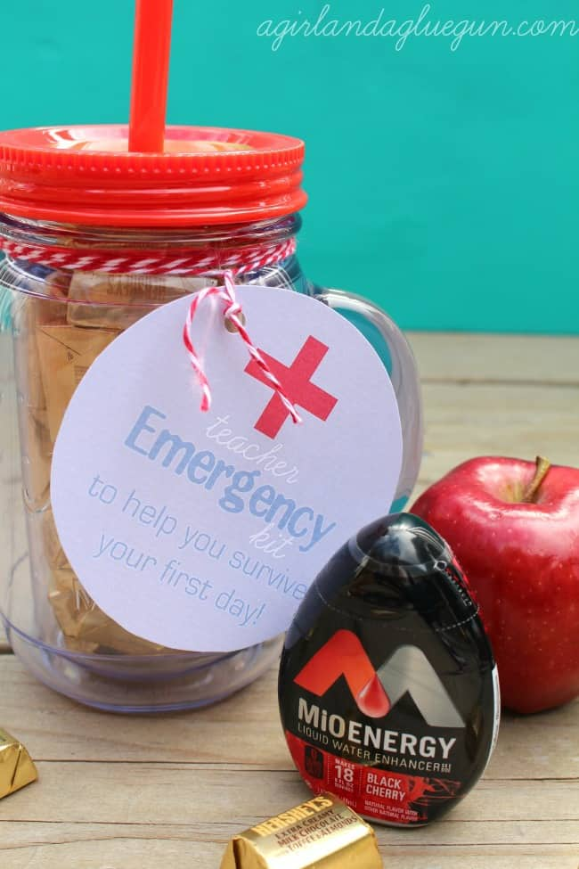 emergency kit for teachers--free printable