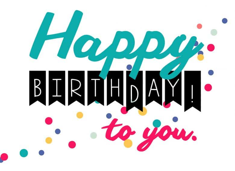 Satisfactory image within free printable happy birthday sign