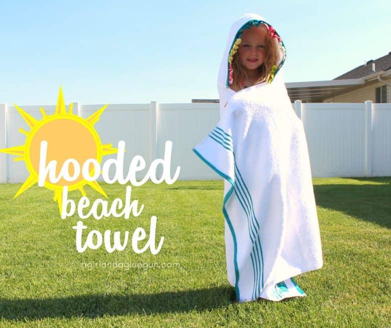hooded bath towel-easy tutorial