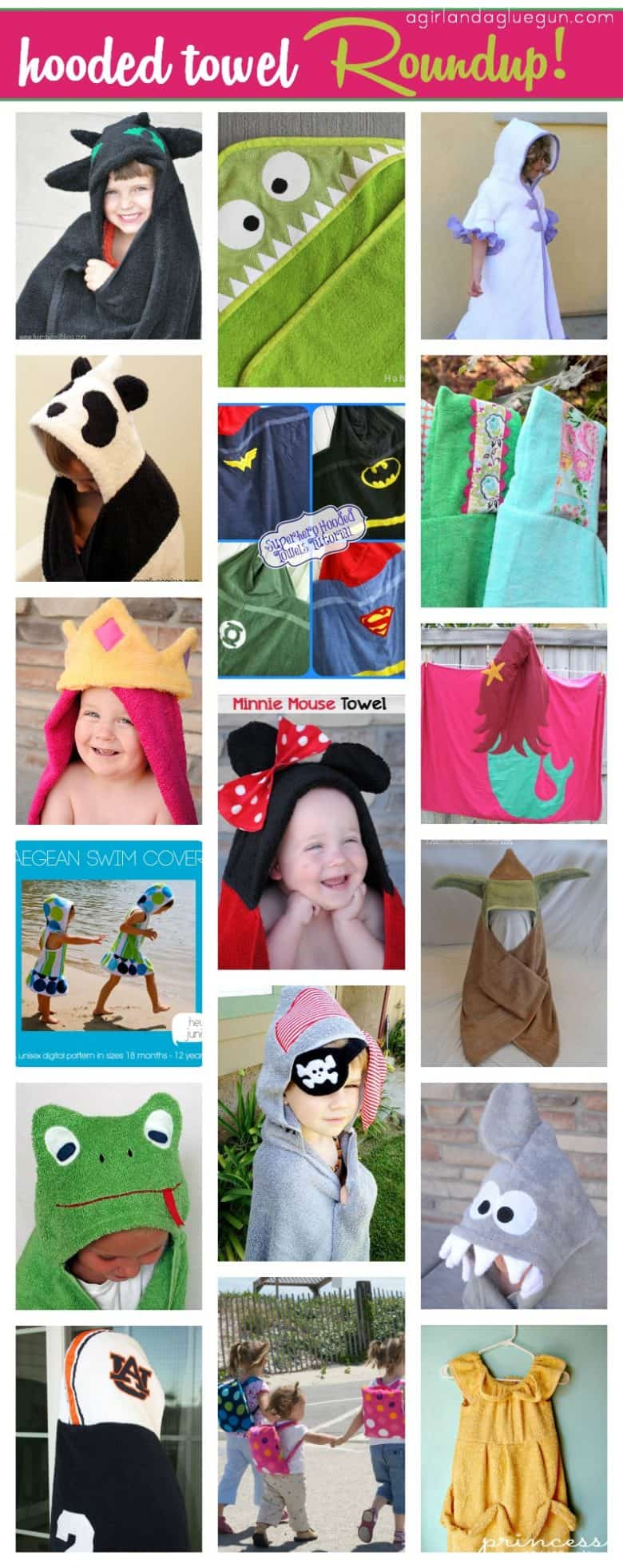 hooded towel roundup