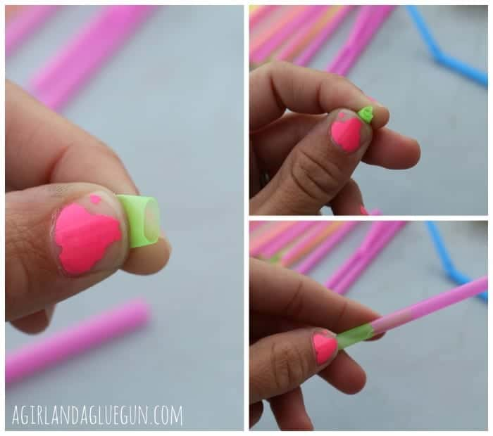 how to build with straws