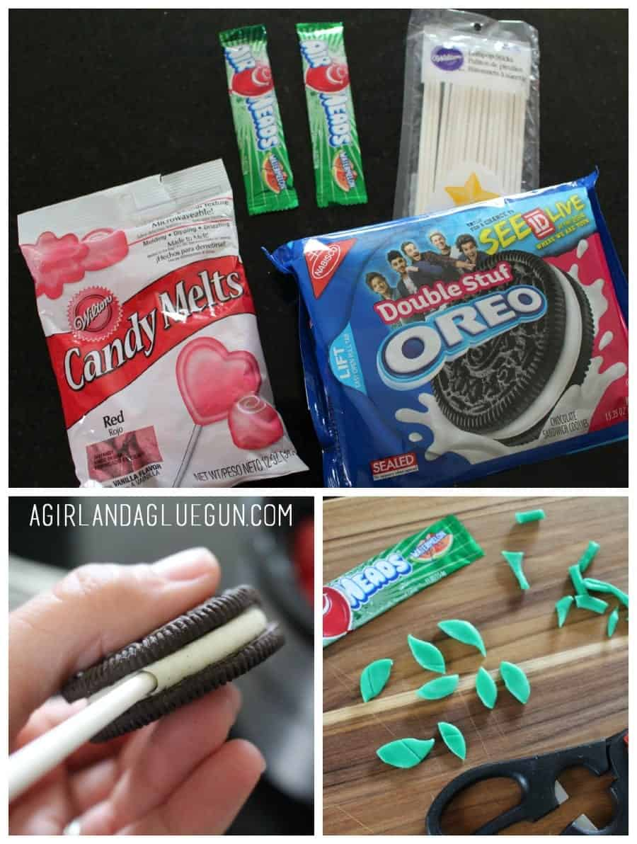 how to make oreo dipped in chocolate apples