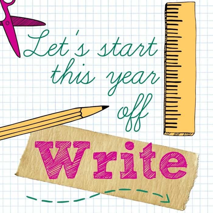 let's start this year off write back to school printable
