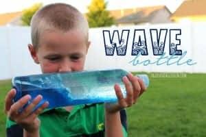 wave bottle how to for kids--agirlandagluegun.com