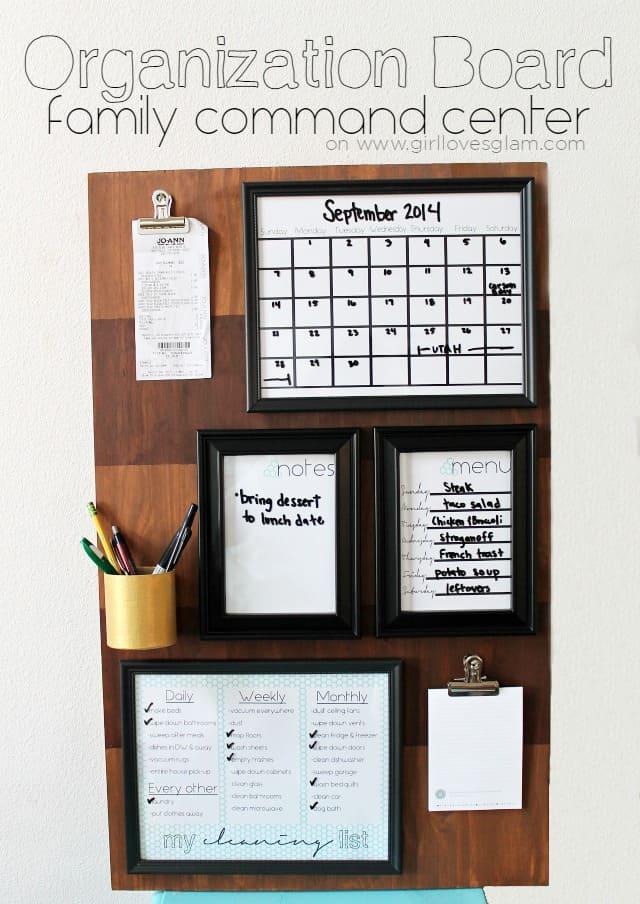 Organization-Board-Family-Command-Center