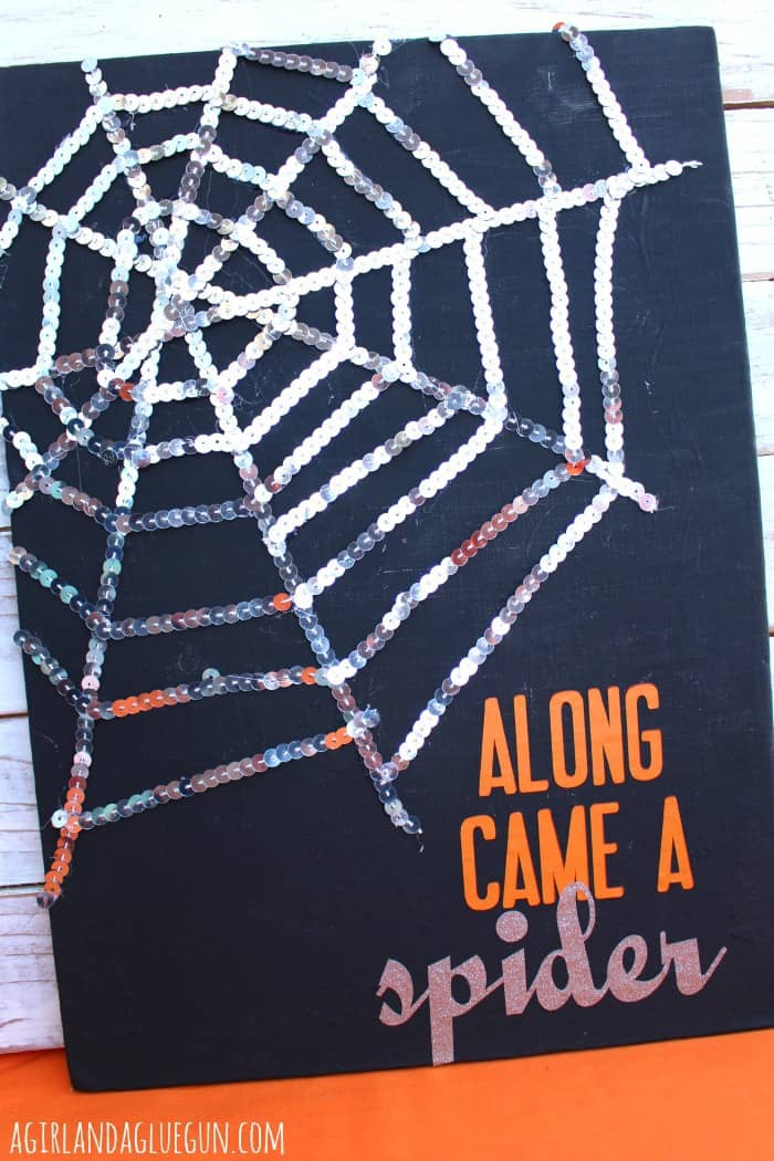 along came a spider art work