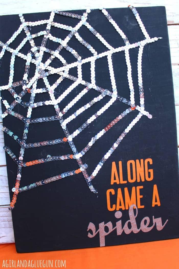 along came a spider art work