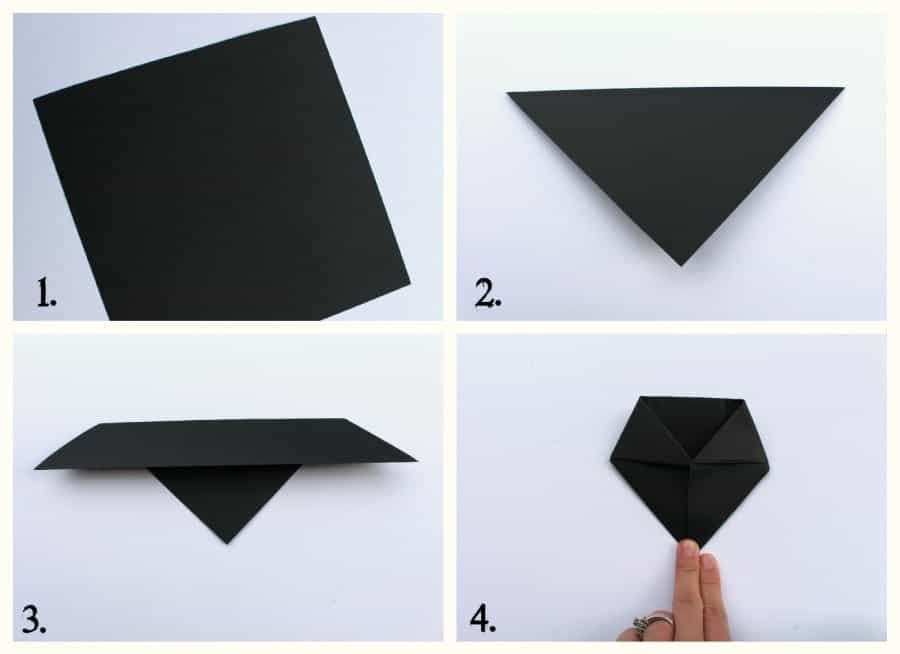 bat origami how to