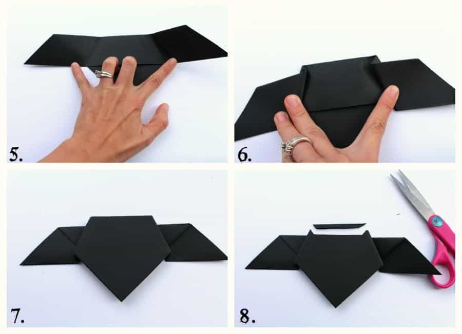 Bat Paper Origami How To