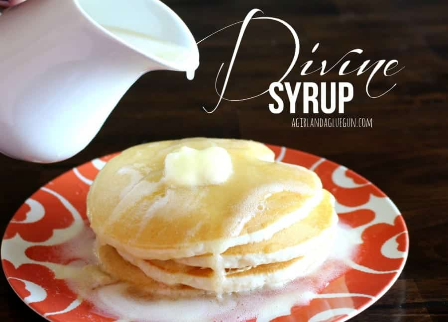 divine syrup--best syrup recipe EVER