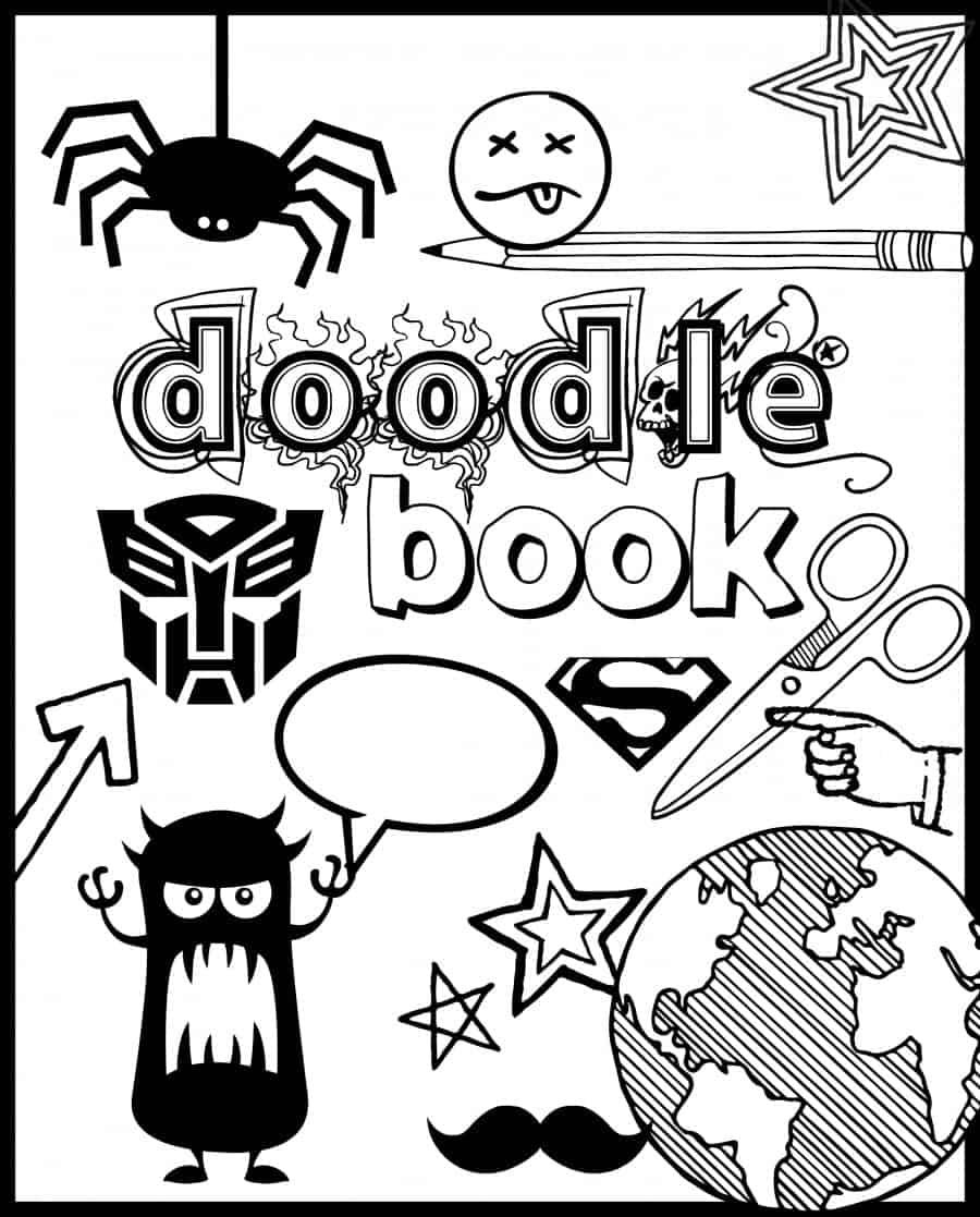doodle book 6