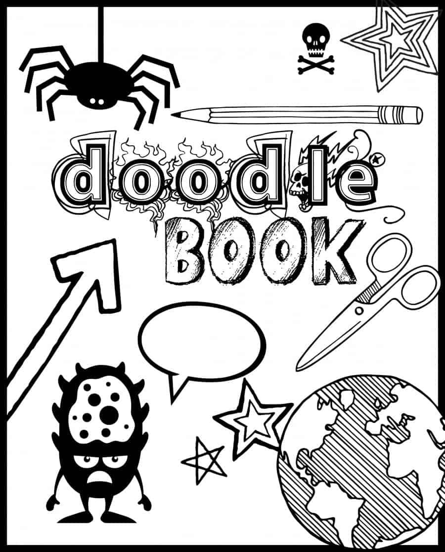 doodle book boy