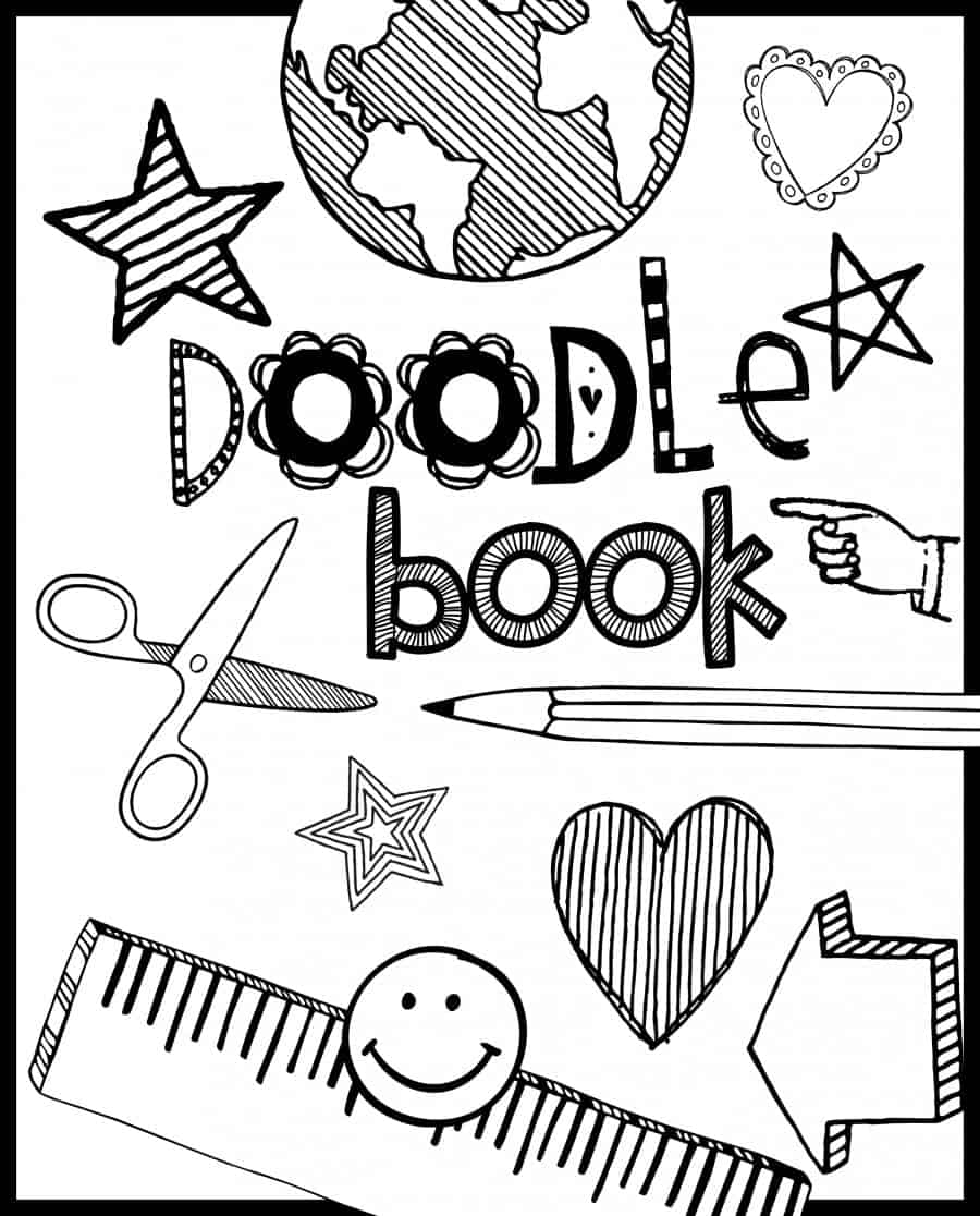 doodle book girls