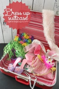 dress up suitcase