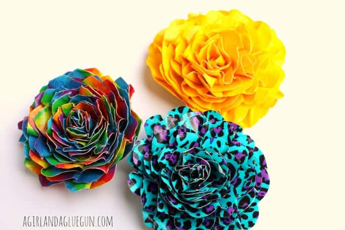 easy duck tape flower how to