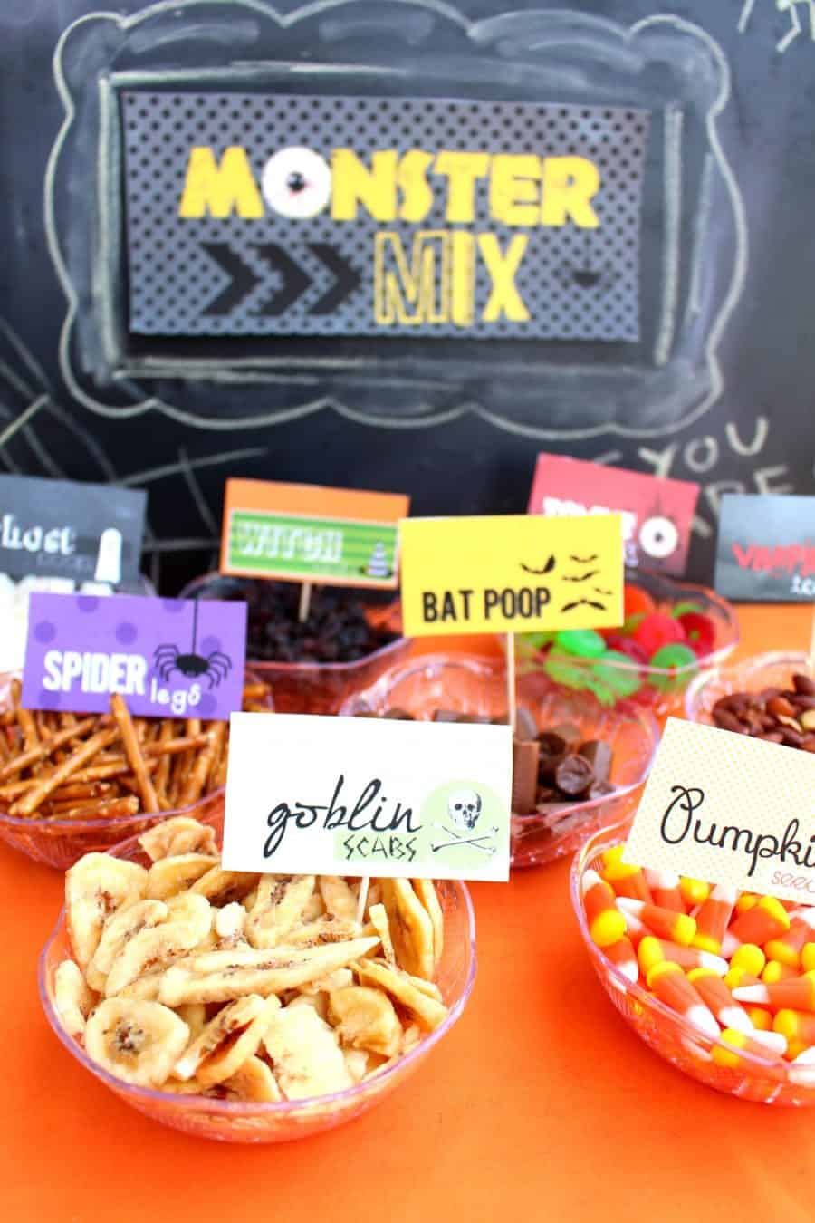 monster mix (trail mix bar)