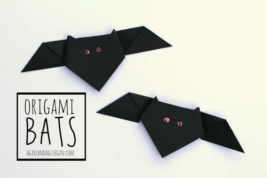 origami bats--a girl and a glue gun.com