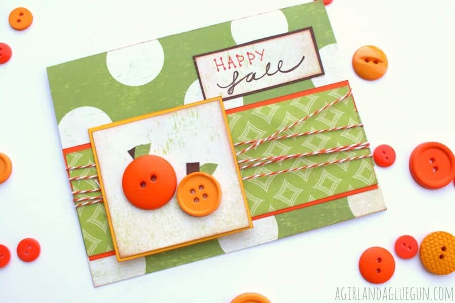 pumpkin fall card
