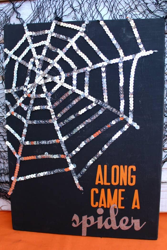spider canvas art