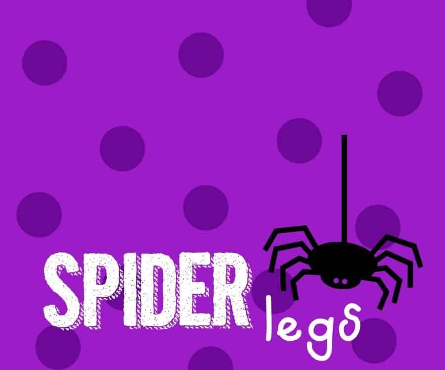 spider leg printables